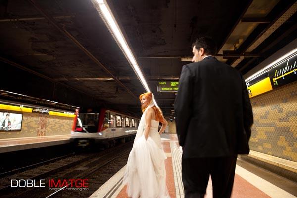 Llevar o no cola es decisión de la novia